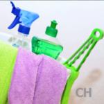 Reinigungsutensilien für Klappbetten